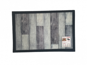 Kilimėlis ALICANTE PARKIET, 40 x 60 cm, pilkas, 624-002