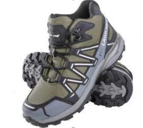 Darbo batai LAHTI PRO O2 SRA, medžiaginiai, žaliai-juodai-pilki, 45 dydis, CE