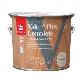 Medienos dažyvė TIKKURILA VALTTI PLUS COMPLETE, 2,5 L, spalva MEDIUM NUT