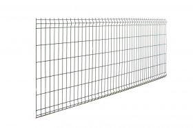 Tvoros segmentas HERVIN GARDEN tamsiai pilkas, akutė 200 x 50 mm, 2,50 x 1,03 m
