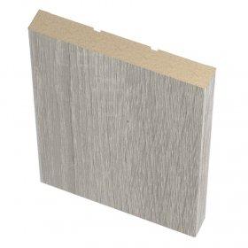 Laminuotų durų apvadai (plokšti) UNIDOORS, pilka sonoma, 70x8x2150 mm, 2,5 vnt.