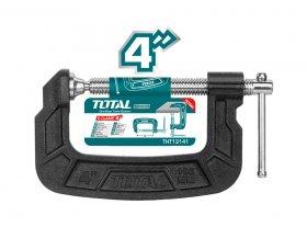 Spaustuvas TOTAL, G-formos, 100 mm, THT13141