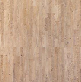 """Parketlentė FOCUS FLOOR, 1116 x 188 x 14 mm, 1,678 m2/dėž., 3 juostos, baltas matinis lakas, """"Season Sunny"""" ąžuolas"""