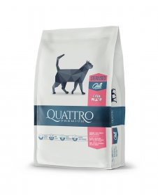 Sausas kačių ėdalas QUATTRO Sterilised, sterilizuotoms katėms, 1,5kg