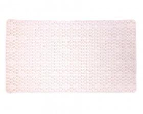 Vonios kilimėlis BENE DOMO  70 x 38 cm, PVC, su siurbtukais, baltas, kilmės šalis Kinija