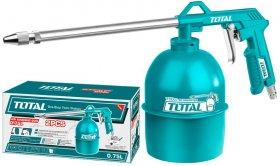 Slėginis purkštuvas TOTAL, pneumatinis, 0,75L, 215 mm, 4Bar, TAT20751