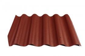 Banguotas lakštas CEDRAL GOTIKA  Matmenys 585x920 mm, Tamsiai raudonos spalvos BL12, 69528 N