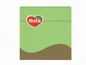 Servetėlės RUTA, 33 x 33 cm., 20 vnt., 3 sluoks., žalios sp.