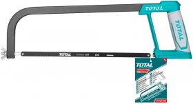 Pjūklas TOTAL, metalui, 65Mn, 300 mm, THT54166