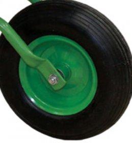 Pripučiamas karučio ratas su metaliniu disku   3,5 x 6 cm.