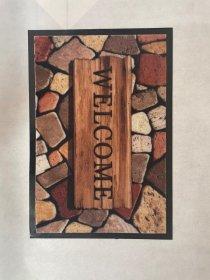 Kilimėlis PATIO WELCOME, 40 x 60 cm, rudas, 670-008