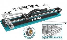 Plytelių pjovimo staklės TOTAL, pjovimo storis iki 14 mm, 800 mm, THT578004