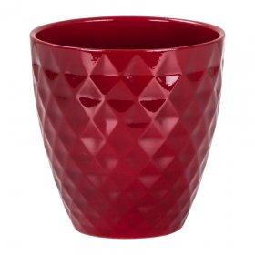 Keramikinis vazonas SCHEURICH 632/15 Dark red 56487 6