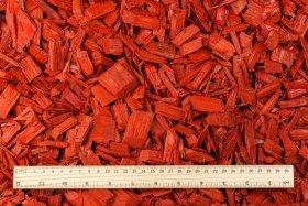 Spalvintas mulčias raudonas, 20 - 40 mm, 200 l.