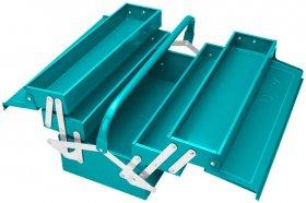 Dėžė įrankiams TOTAL, metalinė, 400x200x195 mm, THT10702
