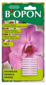 Trąšų lazdelės orchidėjoms BIOPON  10 vnt.