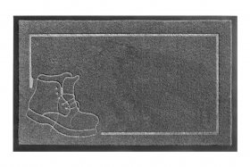 Kilimėlis RICCO ENTRADA, 45 x 75 cm, pilkas, 668-202