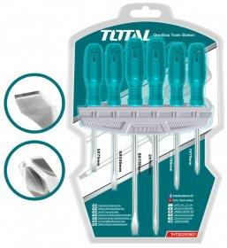 Atsuktuvų rinkinys TOTAL, 40Cr, 6vnt., THTDC250601