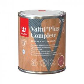 Medienos dažyvė TIKKURILA VALTTI PLUS COMPLETE, 0,75 L, spalva CHERRY