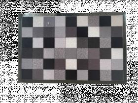 Kilimėlis POLO, 40 x 60 cm, kvadratėliai, pilkas, 672-006