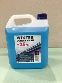 Automobilio langų ploviklis WINTER SCREENWASH, -25C, 4L, žieminis