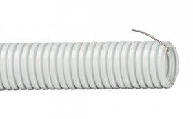 Gofruotas vamzdis IEK, D32/28mm, su viela, pilkos spalvos, CGT20-32-K41-050I, 0024160, 50m., N