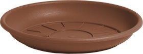 Plastikinė lėkštelė NICOLI DOMUS, 18 cm., ruda