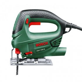Siaurapjūklis BOSCH PST 700 E Compact Green, galia 500 W, 1,7 kg