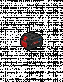 Akumuliatorius BOSCH GBA 18V Blue, 8.0Ah ProCORE18V, ilgai veikiantis akumuliatorius, prilygstantis 1800 W laidinio įrenginio galiai, įtampa 18V , talpa 8Ah