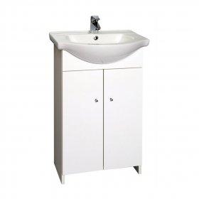 Vonios spintelė INA 50, su praustuvu, 45x80,5x25,6 cm, ST