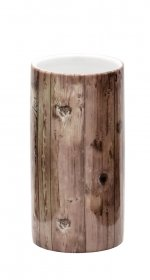 Stiklinė RIDDER WOODY, rusva, porecelianas, 2112108, ST