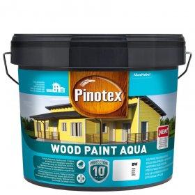 Medinių fasadų dažai PINOTEX WOOD PAINT AQUA, 8,37 l, BC bazė