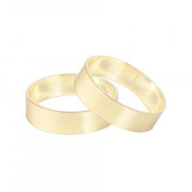 Karnizo žiedas MARDOM FUSION, skersmuo 19 mm, spl. aukso, 2 vnt.