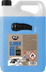 Automobilio langų ploviklis K2 CLAREN, -22C, 5L, žieminis