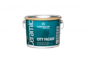 Fasadiniai dažai TOPCOLOR CERAMIC City Facade, 2.5l
