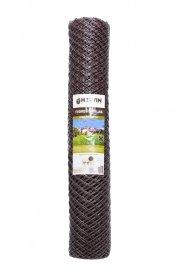 Tvoros tinklas HERVIN GARDEN, plastikinis, rudas, 35 x 35 mm., 1.2 x 10 m., Z35