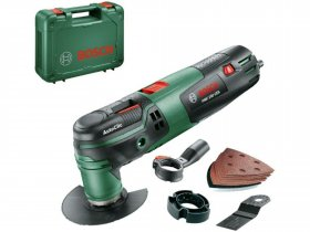 Daugiafunkcinis įrankis BOSCH PMF 250 CES Green, galia 250 W, Starlock, AutoClic