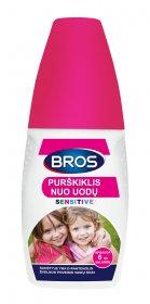Purškiklis nuo uodų ir erkių BROS Sensitive 50 ml.