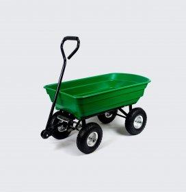 Sodo vežimėlis HERVIN EQUIPMENT, keturratis,  apkrova iki 200 kg, talpa iki 75 l., 108 x 50 x 50/95 cm, GC-018