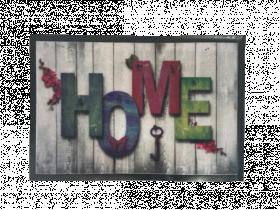 Kilimėlis PATIO HOME/HOME, 40 x 60 cm, rudas, 670-009