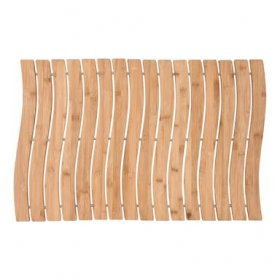 Medinis kilimėlis BAMBOO WAVES, 50 x 70 x 1 cm, bambukinis