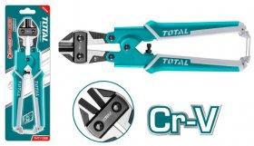 "Žirklės TOTAL, varžtams karpyti, Cr-V, 8""/200 mm, THT11386"