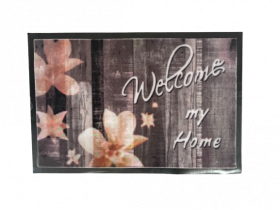 Kilimėlis PATIO WELCOME MY HOME, 40 x 60 cm, rudas, 670-012