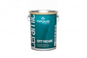 Fasadiniai dažai TOPCOLOR CERAMIC City Facade, 5l