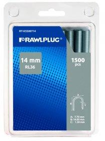 Kabės 14 mm RAWLPLUG, profesionalios, RL-36 tipas, 1500 vnt., RT-KSS00714