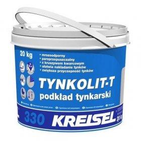 Gruntas KREISEL TYNKOLIT T 330, prieš dekoratyvinį tinką, naudojamas viduje ir išorėje, 20 kg