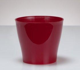 Plastikinis vazonas SCHEURICH 328/19, Ryškiai raudonos sp. 57406, N