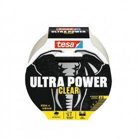 Juosta TESA 56497 ULTRA POWER, skaidri, 20m x 48mm
