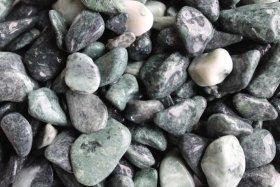 Dekoratyviniai akmenukai, žalia sp., 15-25 mm., 1,5 kg., 06361