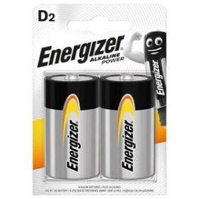 Maitinimo elementai ENERGIZER ALKALINE POWER, 2 vnt.,  LR20, BL2